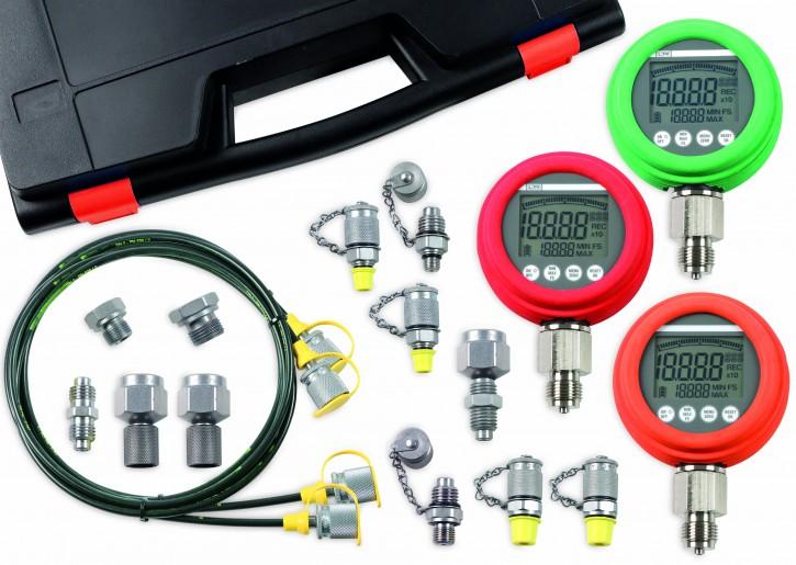 HPKD30_LR Digital 3 Pressure gauges