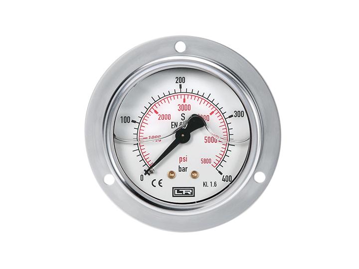 Rohrfedermanometer 0…4 bar/psi