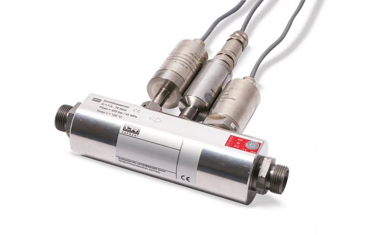 Sensor block Flow 7,5...75 l/min